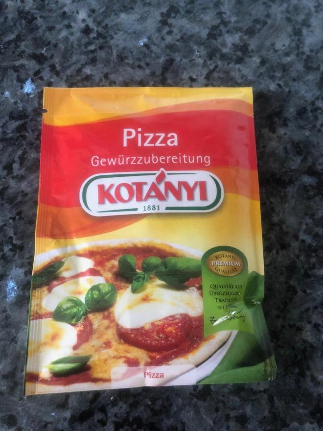Pizza Gewürtz